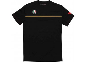T-Shirt AGV FAST-7 Black Gold