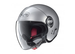 Helmet Jet Nolan N21 Visor Classic 1 Platinum Silver