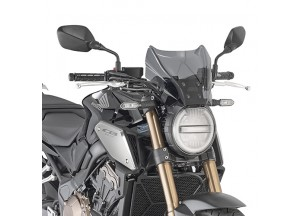 1173S - Givi Specific screen, smoked 22 x 31 cm (H x W) HONDA CB 650 R (19)