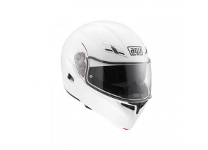 Helmet Flip-Up Full-Face Agv Compact St White