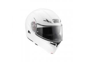 Helmet Flip-Up Full-Face Agv Compact St White