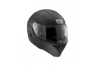 Helmet Flip-Up Full-Face Agv Compact St Matt Black