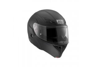 Helmet Flip-Up Full-Face Agv Compact St Matt Black