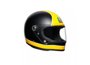 Helmet Full-Face Agv Legends X3000 Super Matt Black Yellow