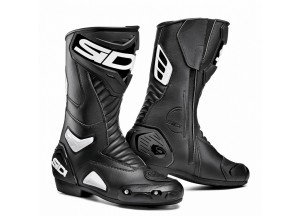 Boots Moto Racing Sidi Performer Black White