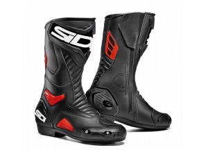Boots Moto Racing Sidi Performer Black Red