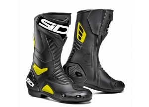 Boots Moto Racing Sidi Performer Black Yellow