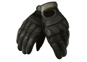 Vintage Leather Gloves Summer Dainese Blackjack Black/Black/Black