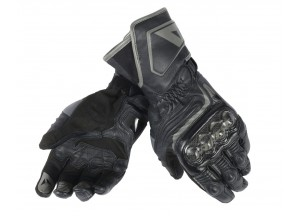 Motorcycle Long Gloves Dainese  Carbon D1 Black/Black/Black