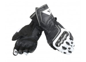 Motorcycle Long Gloves Dainese  Carbon D1 Black/White/Anthracite