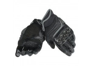 Motorcycle Short Gloves Dainese  Carbon D1 Black/Black/Black