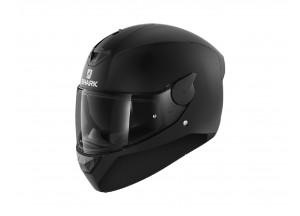 Full-Face Helmet Shark D-SKWAL 2 BLANK Matt Black