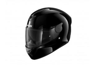 Full-Face Helmet Shark D-SKWAL 2 BLANK Glossy Black