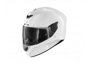 Full-Face Helmet Shark D-SKWAL 2 BLANK Glossy White