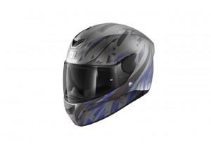 Full-Face Helmet Shark D-SKWAL 2 Kanhji Anthracite Blue Black