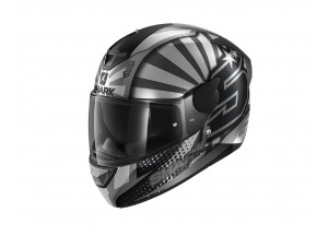 Full-Face Helmet Shark D-SKWAL 2 Replica Zarco 2019 Mat Anthracite Silver