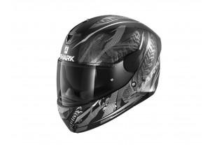 Full-Face Helmet Shark D-SKWAL 2 Shingan Mat Black Silver