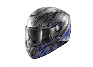 Full-Face Helmet Shark D-SKWAL KANHJI MAT Black Blue