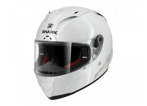 Full-Face Helmet Shark RACE-R PRO BLANK White