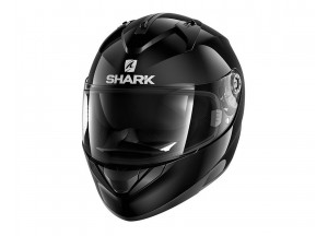 Full-Face Helmet Shark RIDILL BLANK Glossy Black