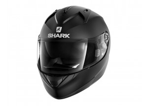 Full-Face Helmet Shark RIDILL BLANK MAT Black