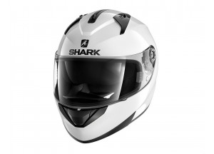 Full-Face Helmet Shark RIDILL BLANK White