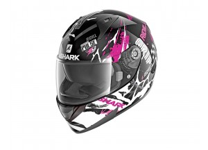 Full-Face Helmet Shark RIDILL DRIFT-R Black Fuchsia