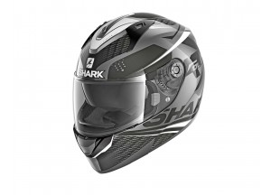Full-Face Helmet Shark RIDILL STRATOM Black Anthracite White