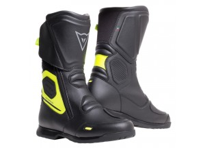 Boots Racing Dainese X-Tourer D-WP Black Fluo Yellow