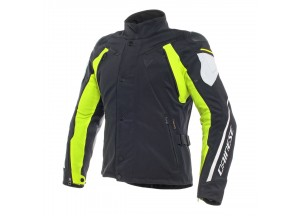 Jacket Dainese D-Dry Rain Master Waterproof Black/Glacier-Gray/Fluo-Yellow