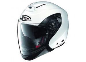 Helmet Crossover X-Lite X-403 GT Elegance 3 Metal White