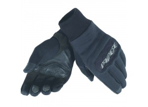 Motorcycle Gloves Dainese  Anemos Windstopper Black/Black/Black