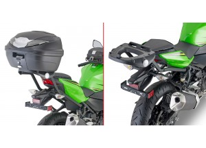 4127FZ - Givi Specific rear rack for MONOLOCK® top-case Kawasaki Ninja 400