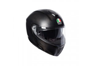 Helmet Flip-Up Full-Face Agv Sportmodular Matt Carbon