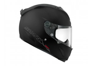 Full-Face Helmet Shark RACE-R PRO BLANK Matt Black