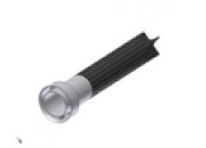 50.DK.038.0 - Mivv SUONO FULL TITANIUM dB-killer d35 - d48- L.190 mm - multihole