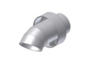 50.DK.048.0 - Mivv SUONO FULL TITANIUM dB-killer d35 - d48 - L.60 mm - seger