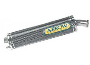 51095SU - SILENCER TOP ARROW made with Kevlar APRILIA RS 250 95-03 CHALLENGE