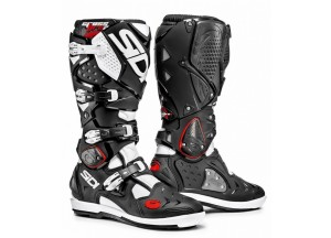 Boots Moto Off-Road Crossfire 2 SRS Black White