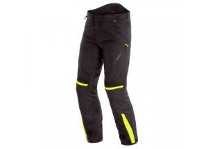 Waterproof Motorbike Pants Dainese Tempest 2 D-Dry Black Fluo Yellow