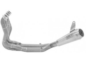 71204CPF - Exhaust Arrow Competition Low Titanium/SS End BMW S 1000 RR (19-20)