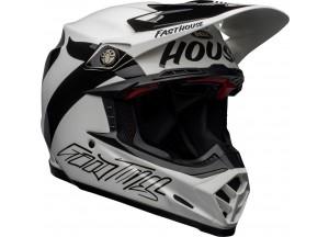 Helmet Bell Off-road Motocross Moto-9 Carbon Flex Fasthouse Newhall Black White