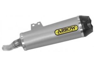 71909PK - Exhaust Muffler Arrow Works Titanium Benelli 502 C (19-20)