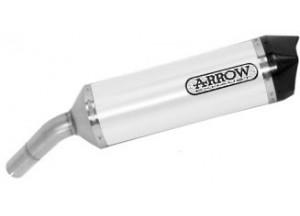 71910AKB - Exhaust Muffler Arrow Race-Tech White Honda VFR 800 F (17-20)