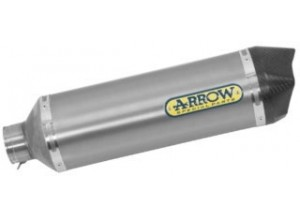 73517PK - Exhaust Muffler Arrow Race-Tech Titanium Kymco XCITING 400i S (19-20)