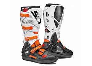 Boots Moto Off-Road Crossfire 3 SRS Orange Fluo Black White