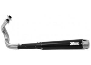 74501RBA - Full Exhaust Arrow Rebel SS Dark Kawasaki Vulcan S 650 (14-16)