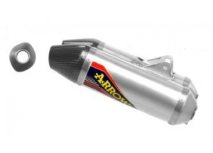 75121TAK - SILENCERS EXHAUSTS ARROW OFFROAD V2 CARB END HONDA CRF 250 R 14 DX+SX