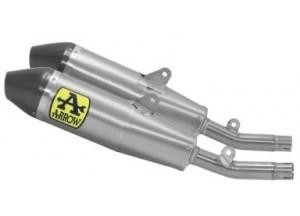 75163TK - Exhaust Muffler Arrow Thunder Titanium Honda CRF 250 / 300 (20)