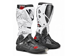 Boots Moto Off-Road Crossfire 3 Black White